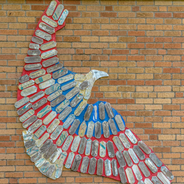 Untitled - Eagle - Price Harris Elementary School - 706 Armour - photo from 2009