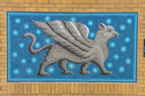 mosaic tile griffin - Northeast Magnet High School 1847 N. Chautauqua 2009