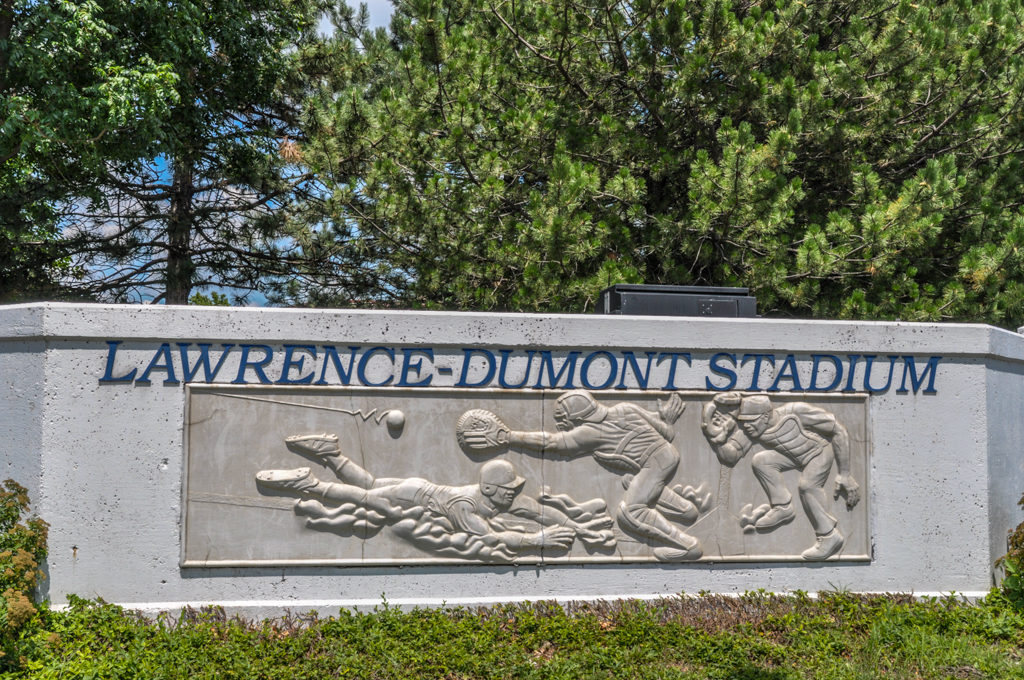 Lawrence-Dumont Stadium - Maple & Sycamore - photo from 2009