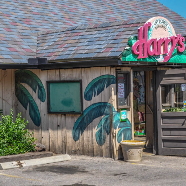 Harry's Uptown Bar & Grill - 3023 E. Douglas - by Rick Regan, 1999 - photo from 2009