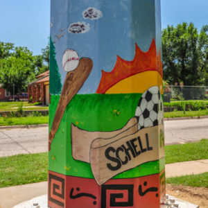 Schell Park - Mascot & 24th Street North - by Pleasant Valley Middle School photo from 2009