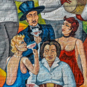 Untitled - Margarita's Cantina - 4109 E. Dougals - by Rick Regan, 2010 - photo from 2010