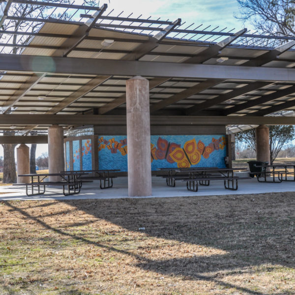 West Douglas Park shelter - Douglas and Sheridan - photo from 2010